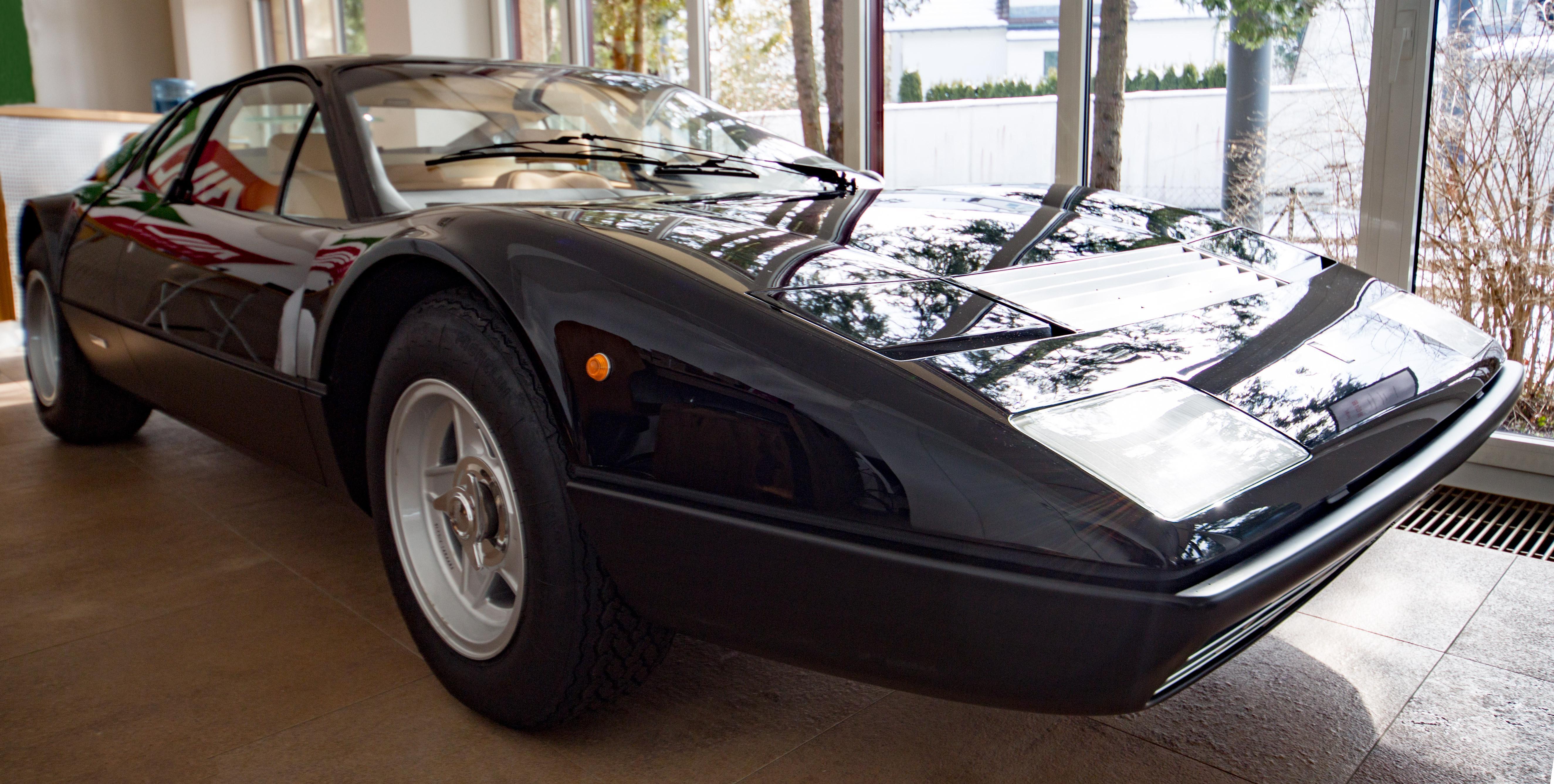 Ein Ferrari 512 BBi; Baujahr 1981 - 1983