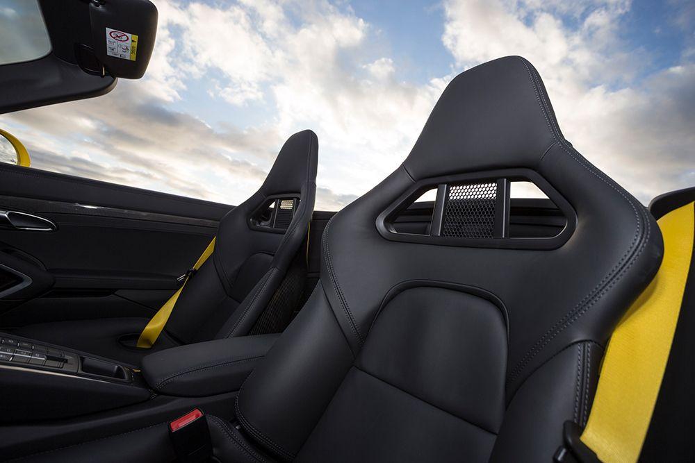 Porsche 911 Carrera S Cabriolet Innenraum Sitze