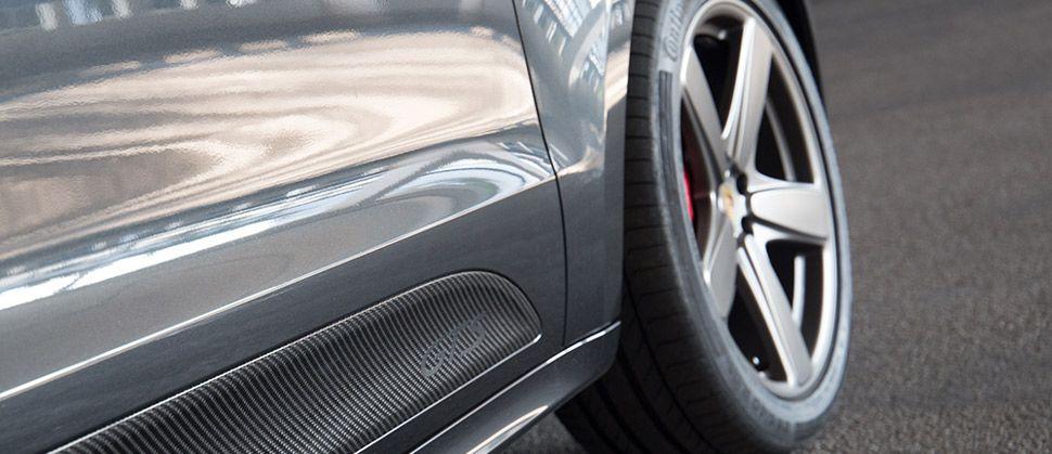 Porsche Macan GTS mit Carbon Sideblades