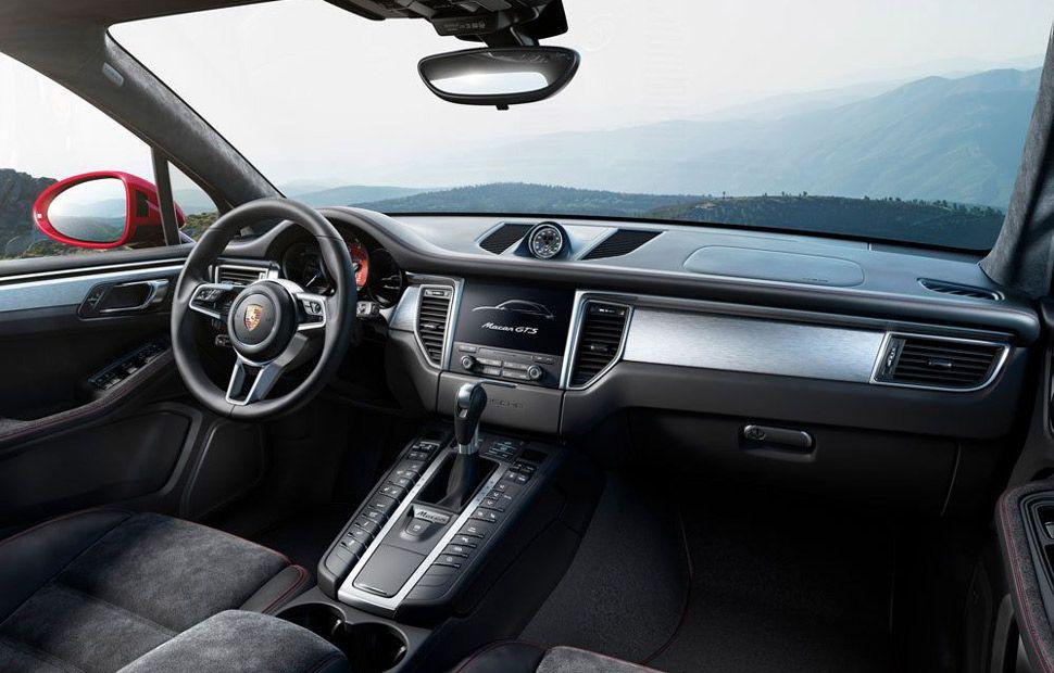 Innenansicht des Porsche Macan GTS