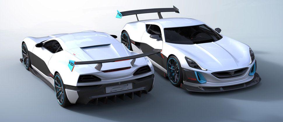 Zwei Rimac Concept S.