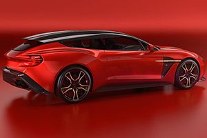 Aston Martin Zagato Shooting Brake mit Kombi-Heck.