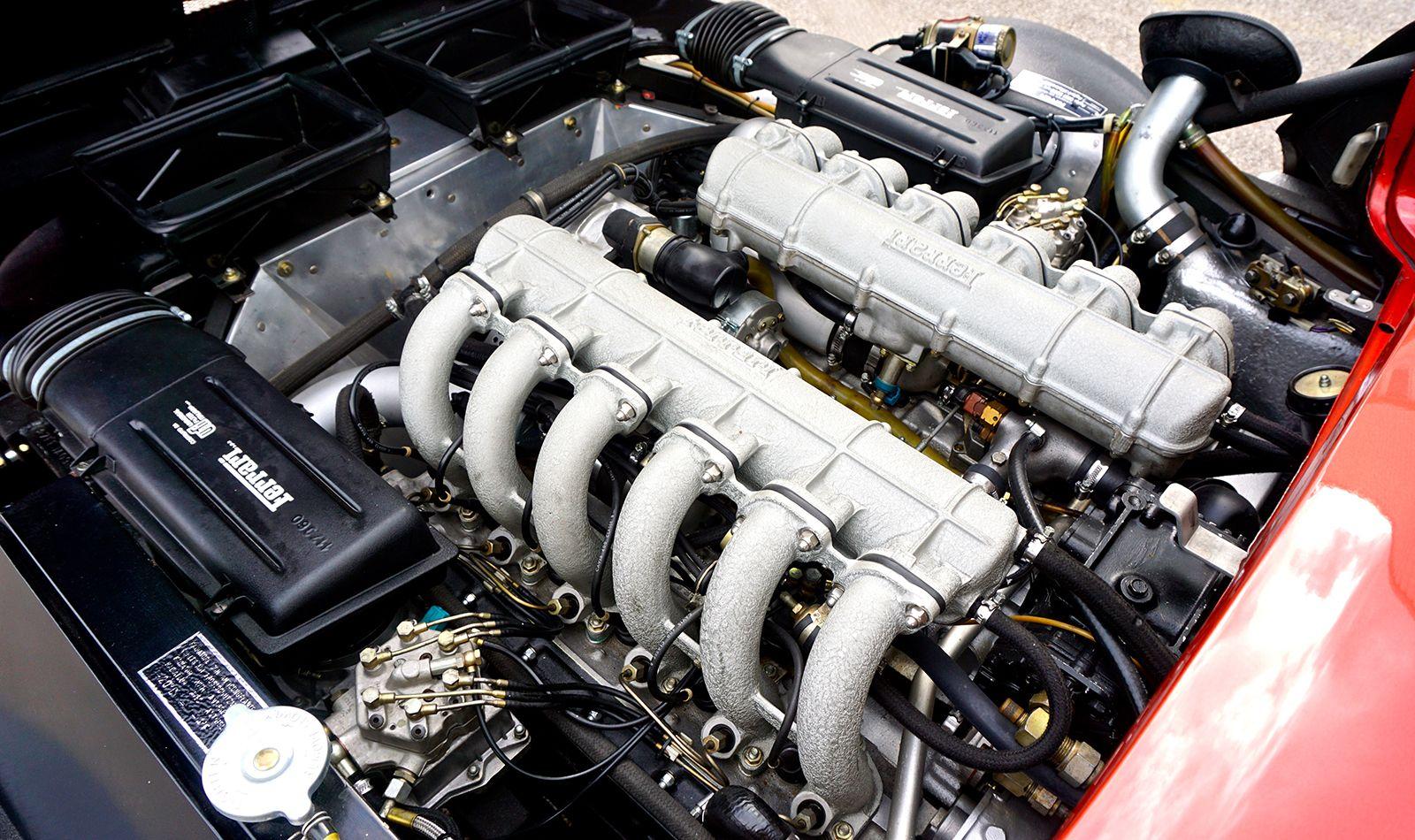 Ferrari 512 BBi Motor