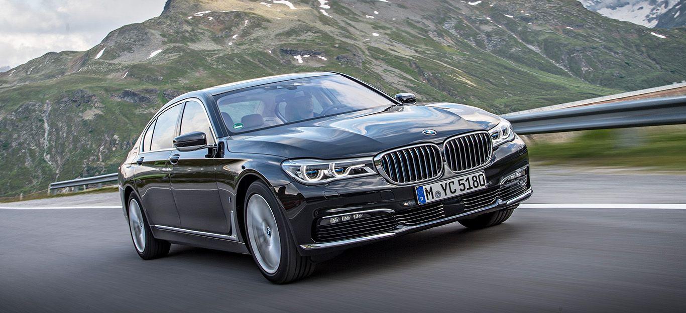 BMW 7er G11 G12 Frontansicht