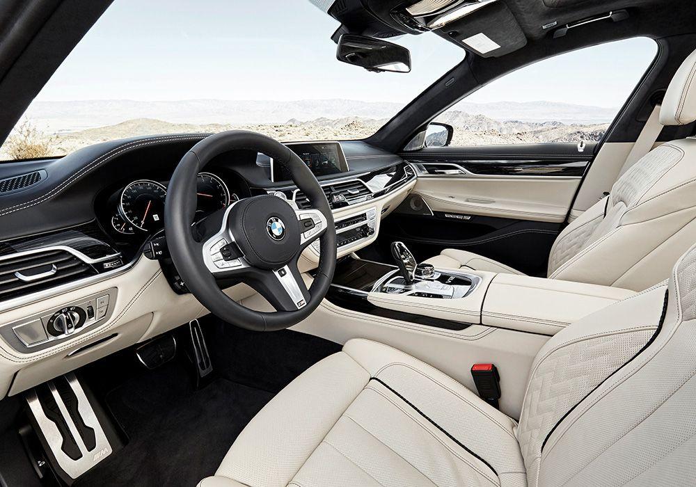 BMW 7er G11 G12 Innenraum Cockpit