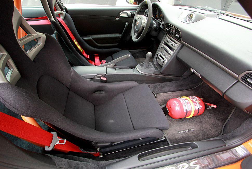 Porsche 911 997 GT3 RS Innenraum