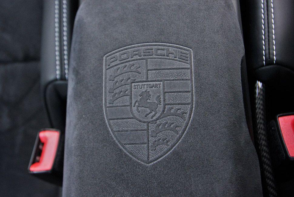 Porsche 911 GT3 RS Ablagefach