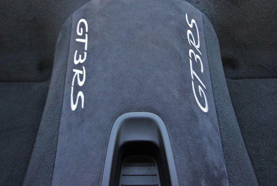 Porsche 911 GT3 RS Mitteltunnel