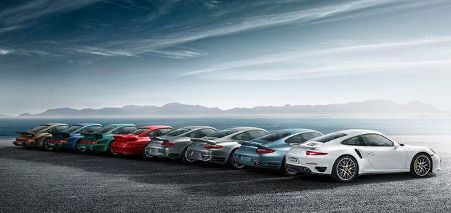 Porsche 911 Turbo Modelle