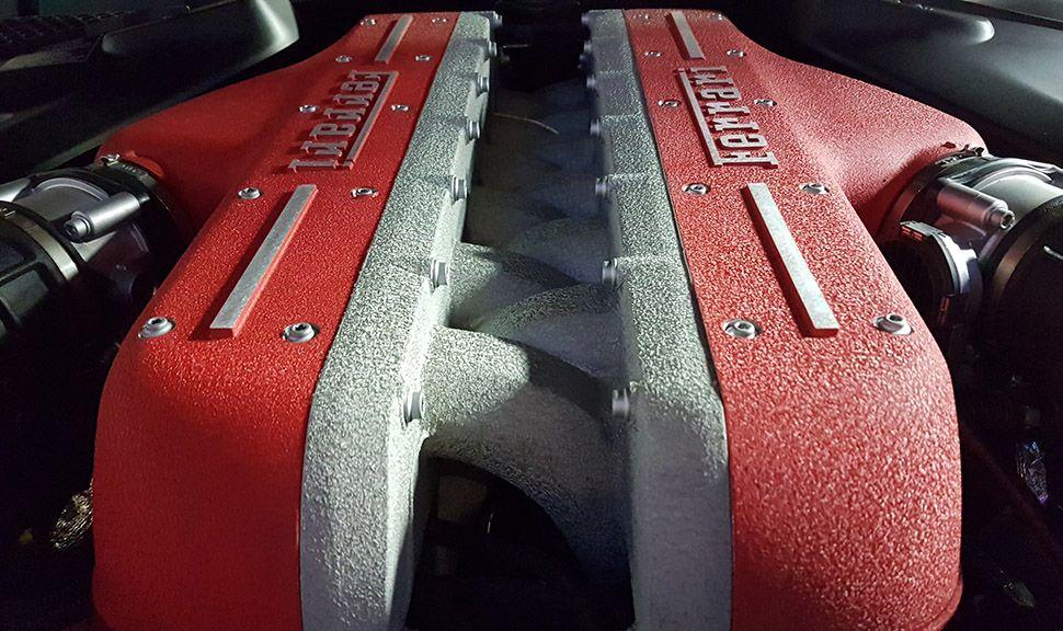 Motor des Ferrari GTC4Lusso