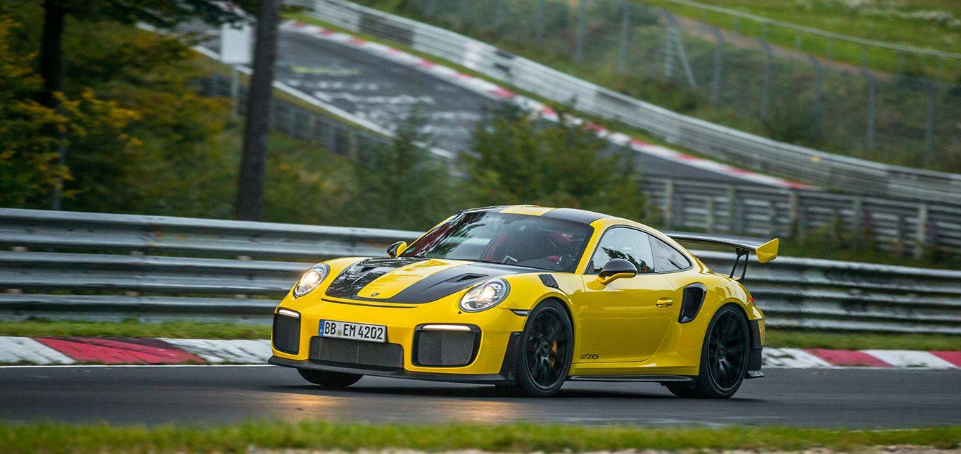 Porsche 911 GT2 RS Rekordfahrt auf der Nordschleife