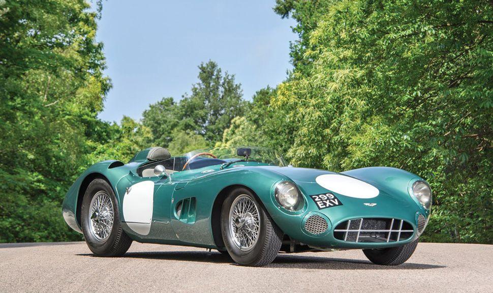 Aston Martin DBR1 grün