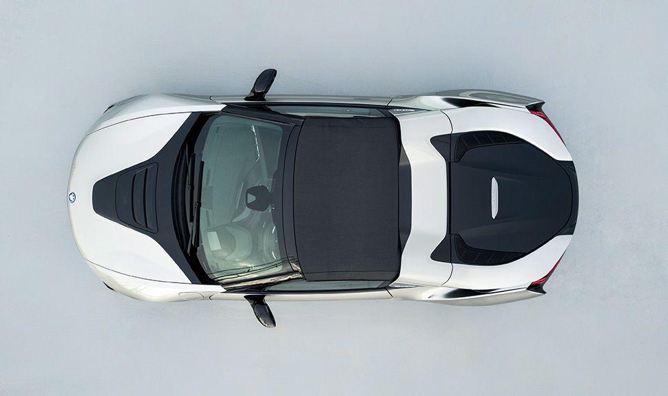 BMW i8 Roadster von oben