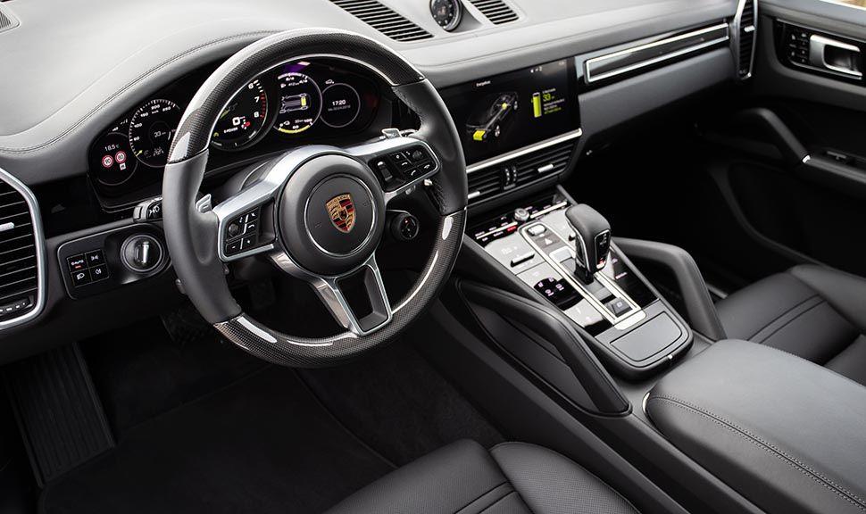 Porsche Cayenne E-Hybrid Cockpit