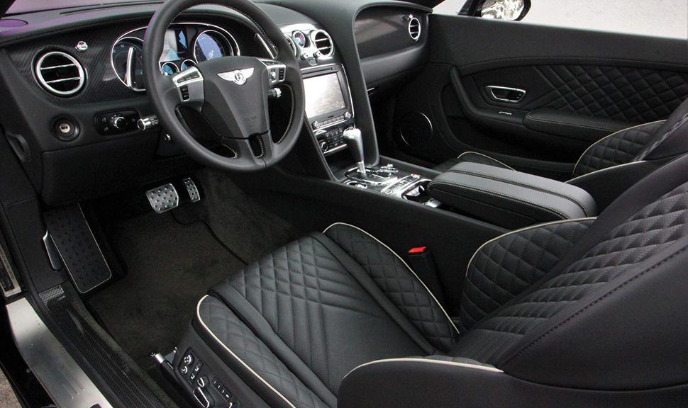 Der Innenraum des Bentley Continental Supersports