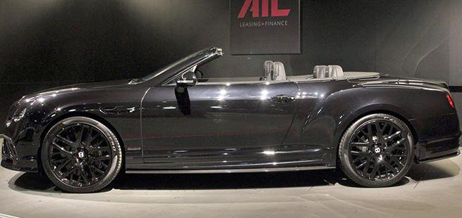 Das Bentley Continental Supersports Convertible in der Seitenansicht