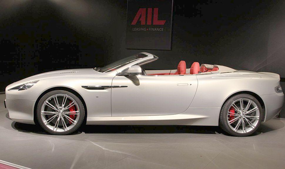 Aston Martin DB9 Volante Seitenansicht