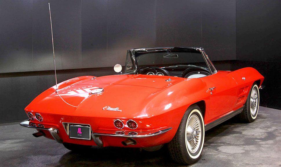 Chevrolet Corvette C2 V8 Cabrio Rot