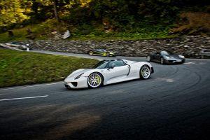 Artikelbild BeschreibungAlpentour mit dem Porsche 918 Spyder6523