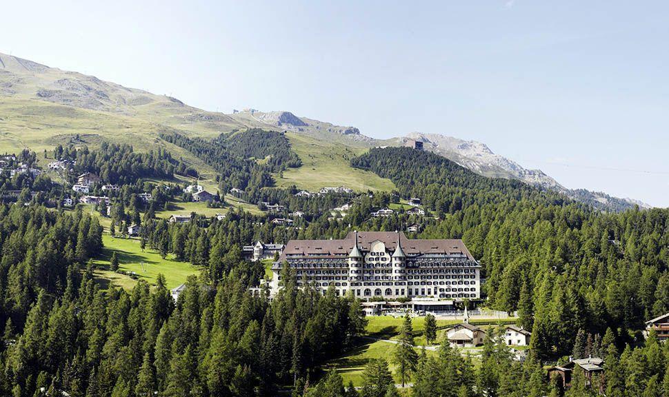 Sulvretta-House Panorama-Aufnahme