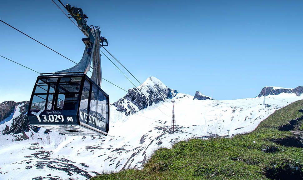 Gletscherbahn auf das Kitzsteinhorn
