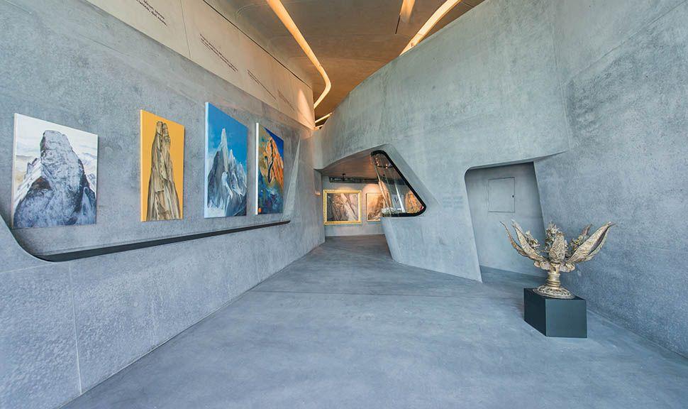 Messner Mountain Museum Corones Ausstellungsstücke