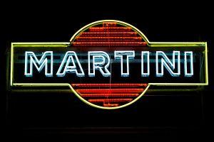 Martini Logo Neonlicht