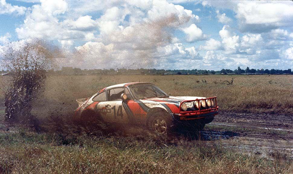 Porsche 911 SC bei der Safari-Rallye 1972