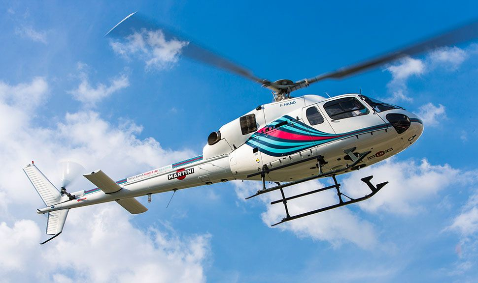 Martini Racing Helikopter