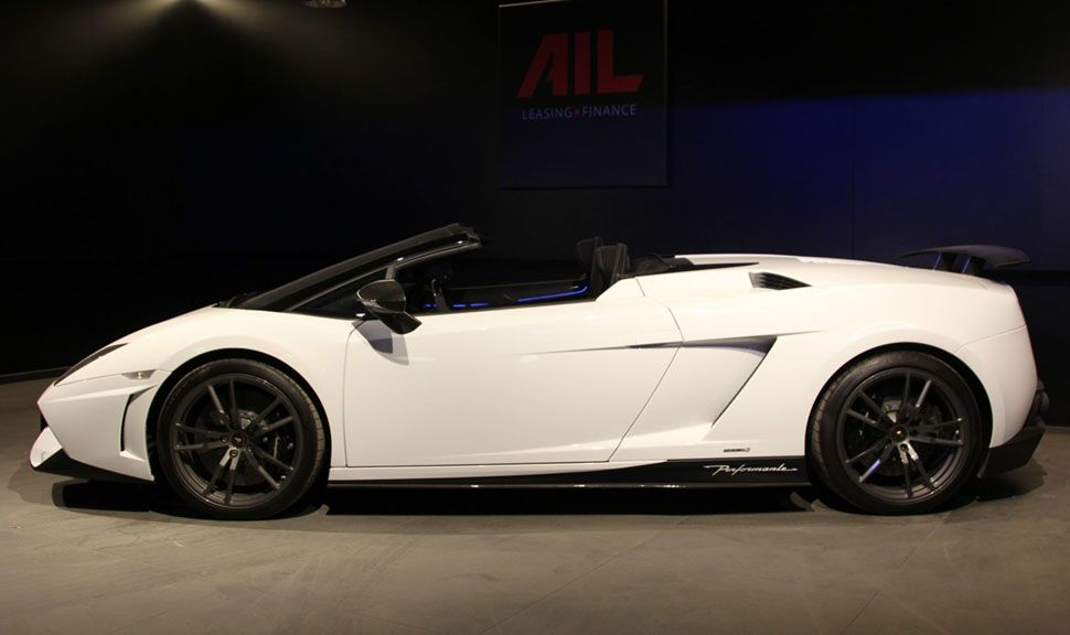 Lamborghini Gallardo LP570-4 Performante Spyder