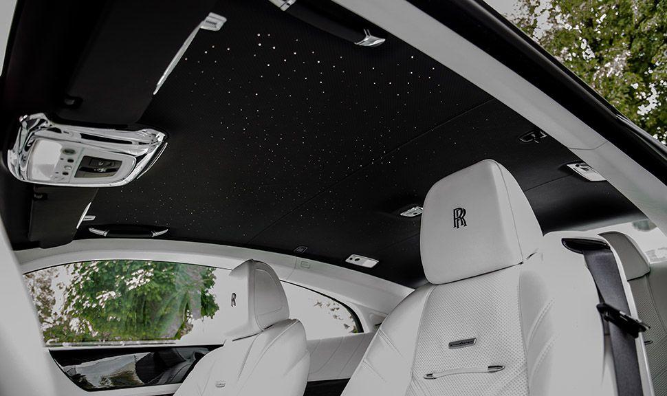 Rolls Royce Wraith ARES Design Dachhimmel mit Sternenzeltnachbildung
