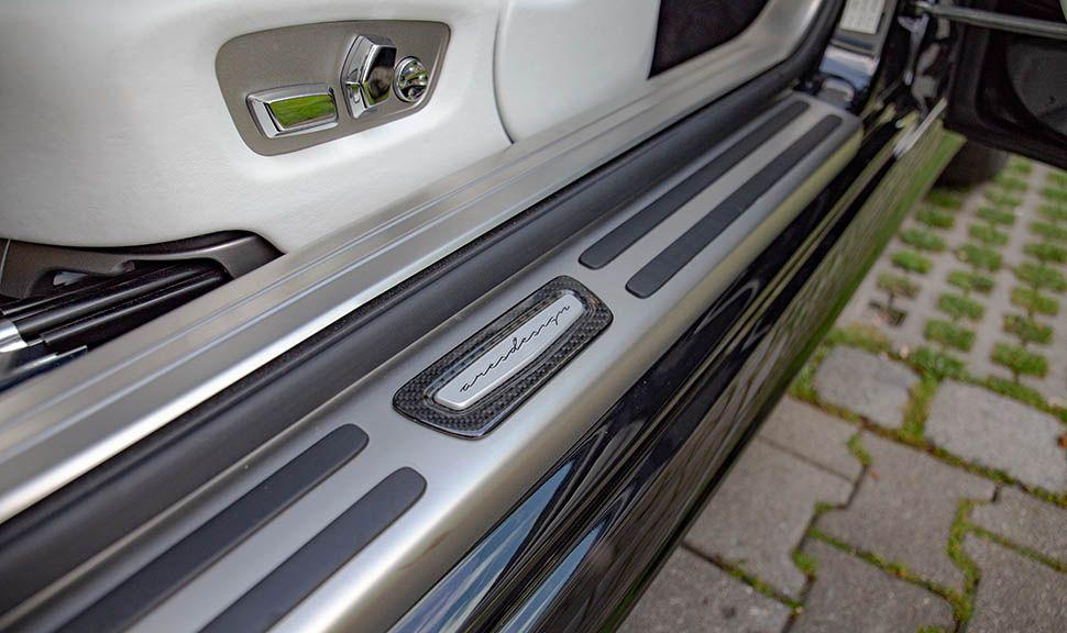 Rolls Royce Wraith ARES Design Türeinstiegsleiste