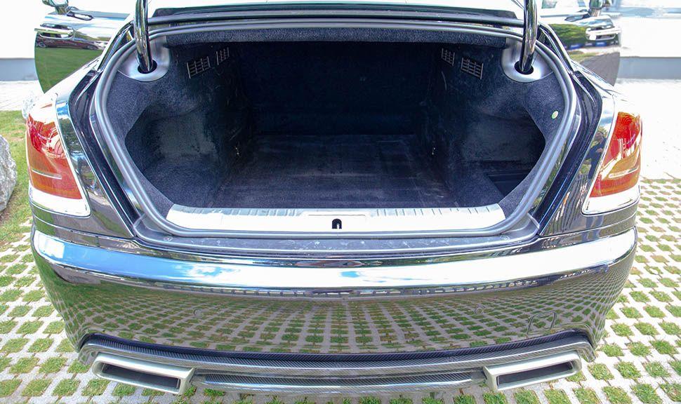 Rolls Royce Wraith ARES Design Kofferraum geöffnet