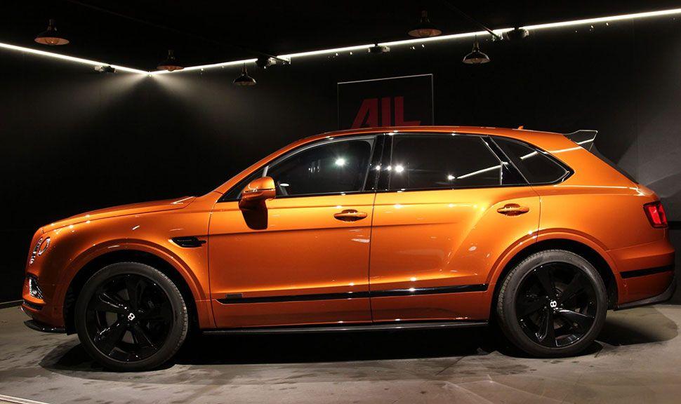 Seitenansicht des Bentley Bentayga