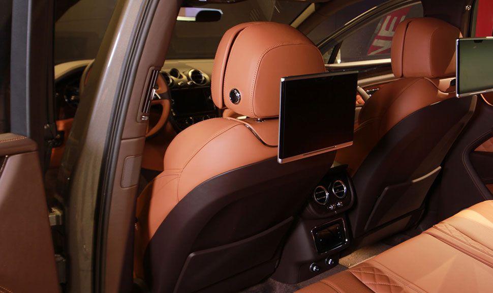 Rückbank des Bentley Bentayga