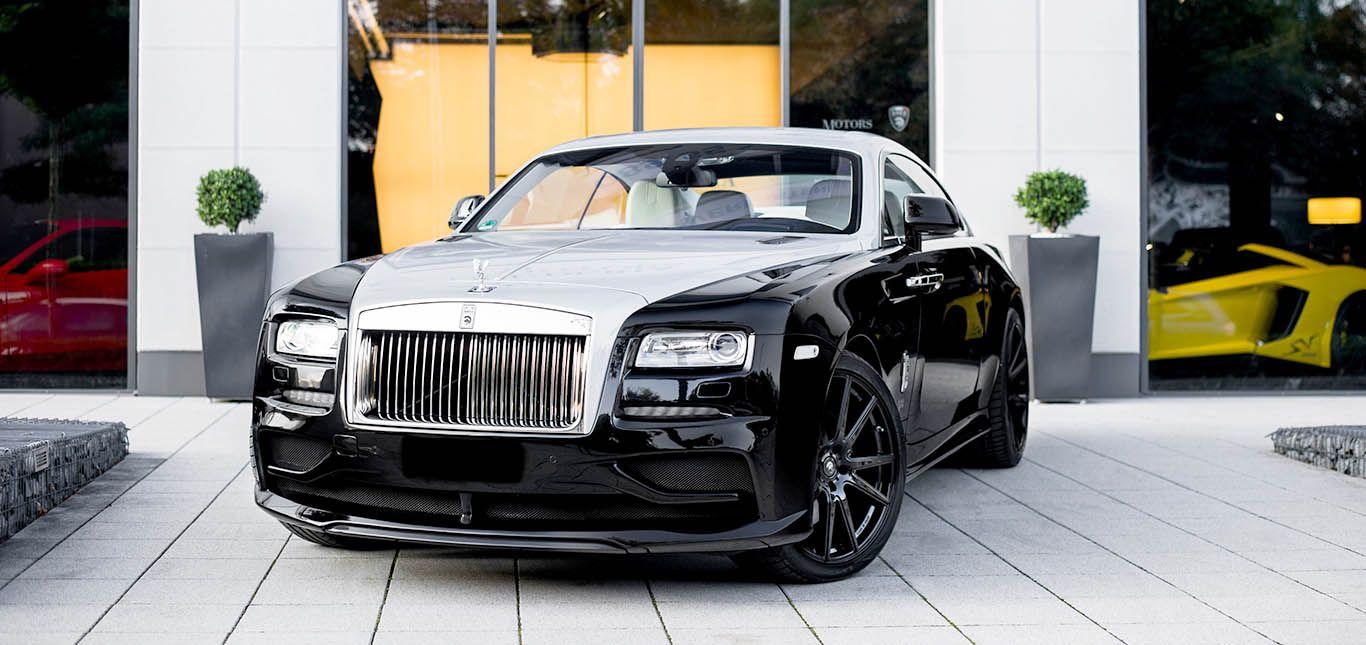 Rolls Royce Wraith ARES Design