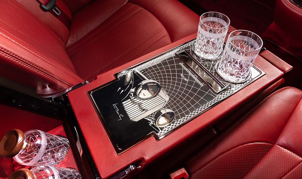 Bentley Mulsanne W. O. Edition by Mulliner Interieur
