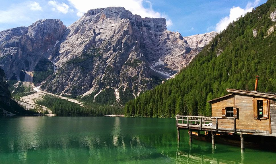 Ansicht des Lago di Braies