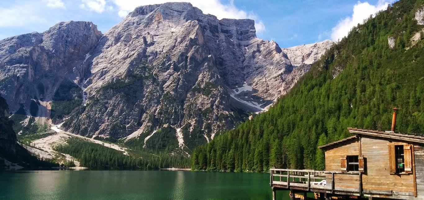 Pragser Wildsee im Panorama
