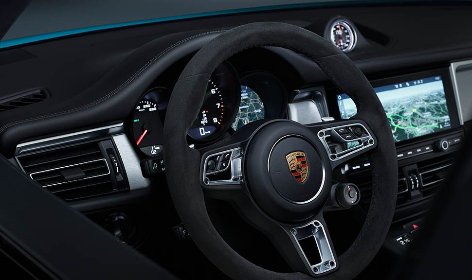 Porsche Macan Facelift Cockpit