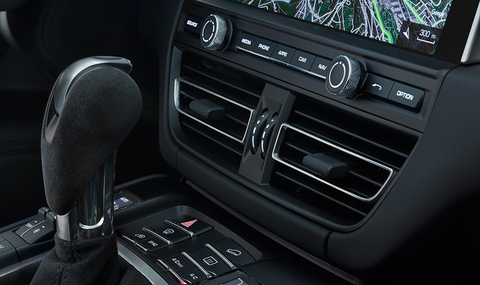 Porsche Macan Facelift Mittelkonsole