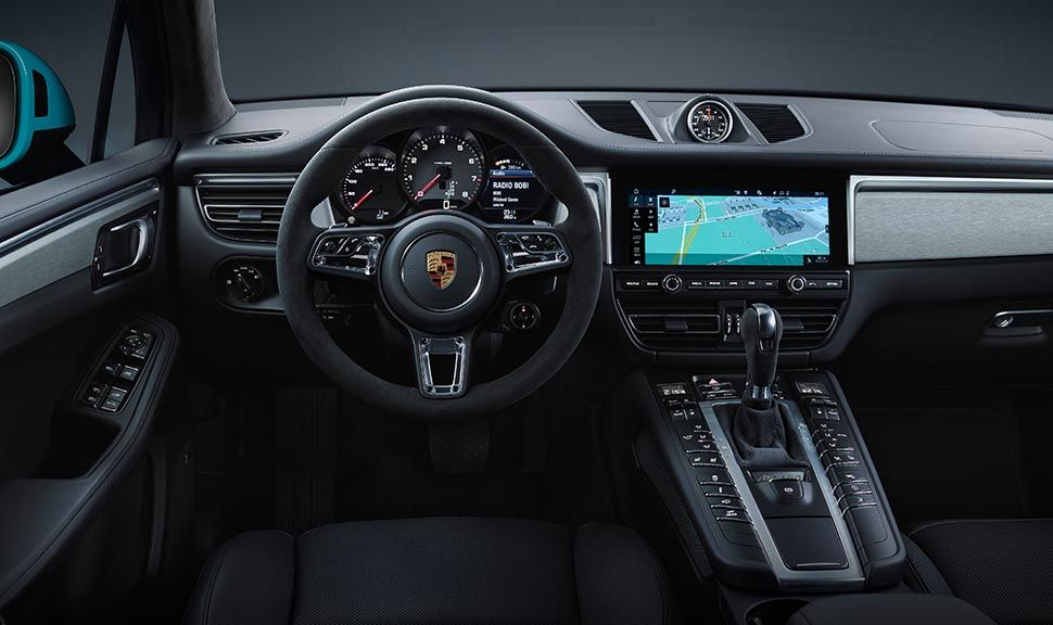 Porsche Macan Facelift Innenraum Cockpit