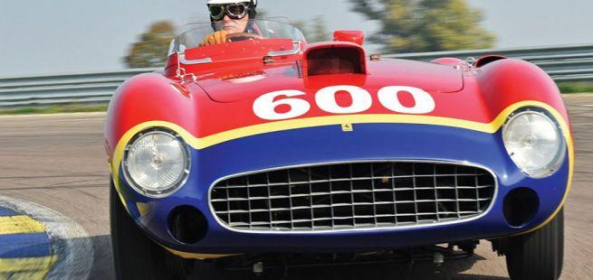 Ferrari 290 MM im Rennen