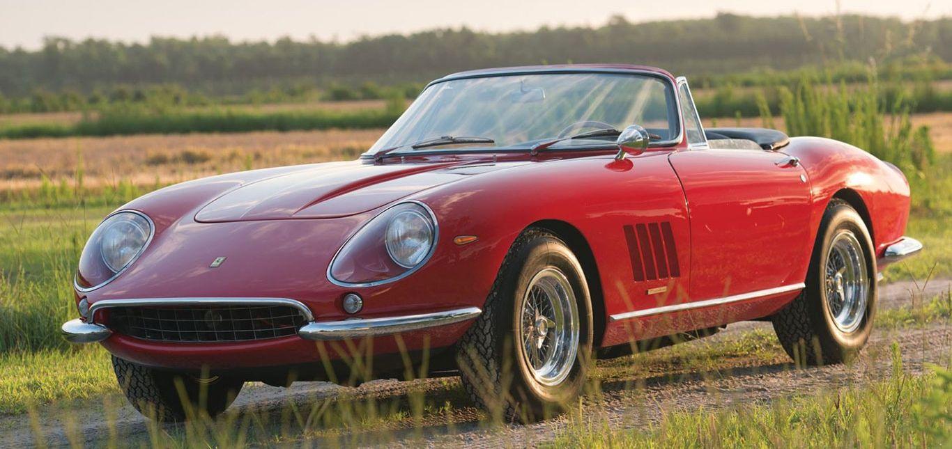 Ferrari 275 GTB/4 Seitenansicht