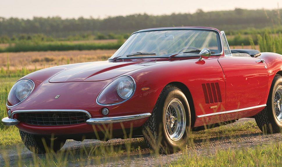 1967 Ferrari 275 GTB/4*S N.A.R.T. Spider by Scaglietti in der Seitenansicht