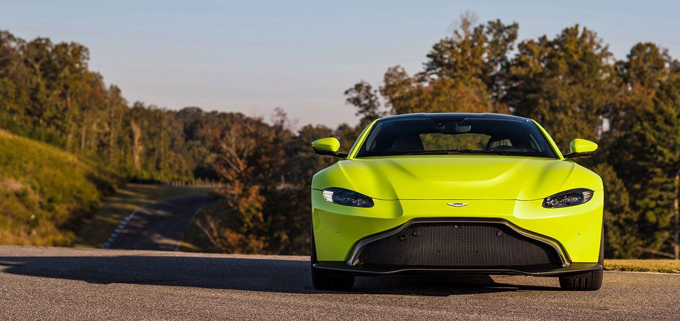 Front des Aston Martin Vantage