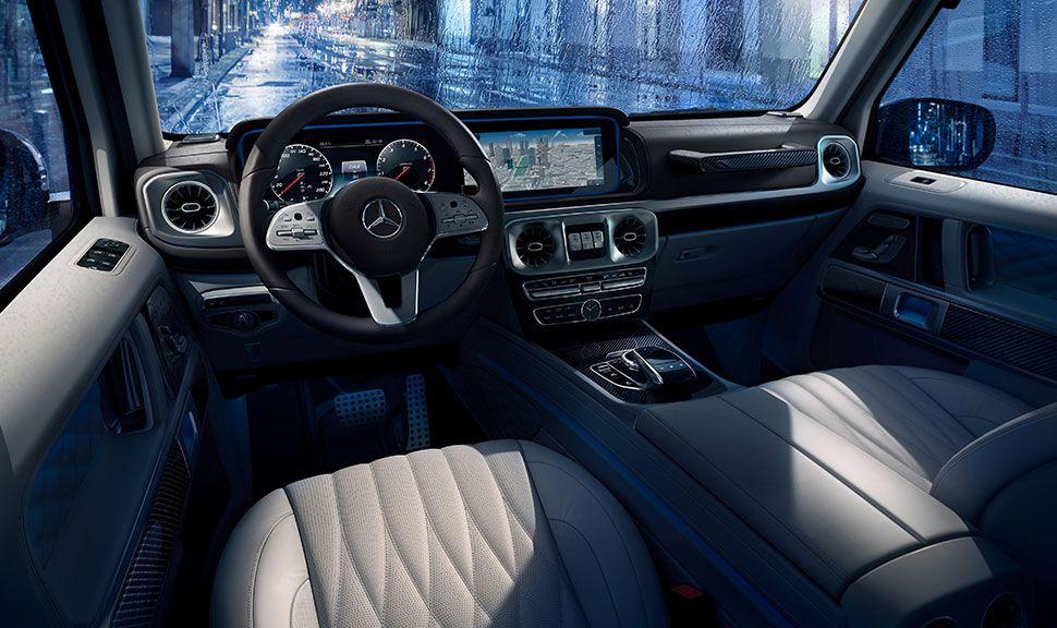 Innenraum der Mercedes G-Klasse