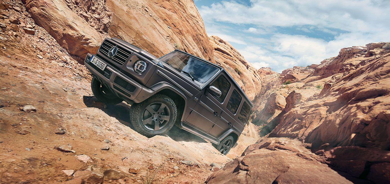 Die Mercedes G-Klasse im Gelände