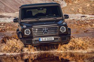 Front der Mercedes G-Klasse