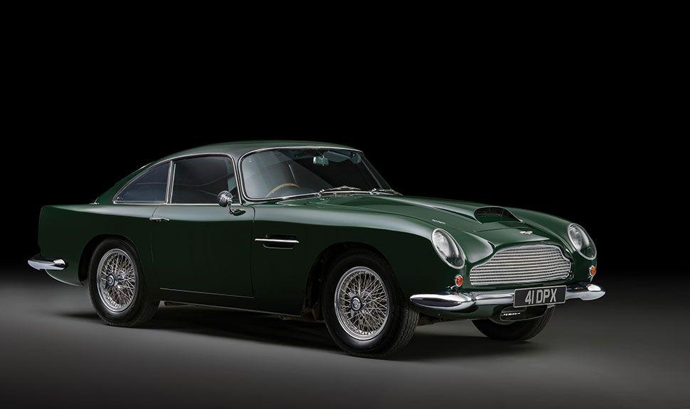 Seitenansicht des Aston Martin DB4GT
